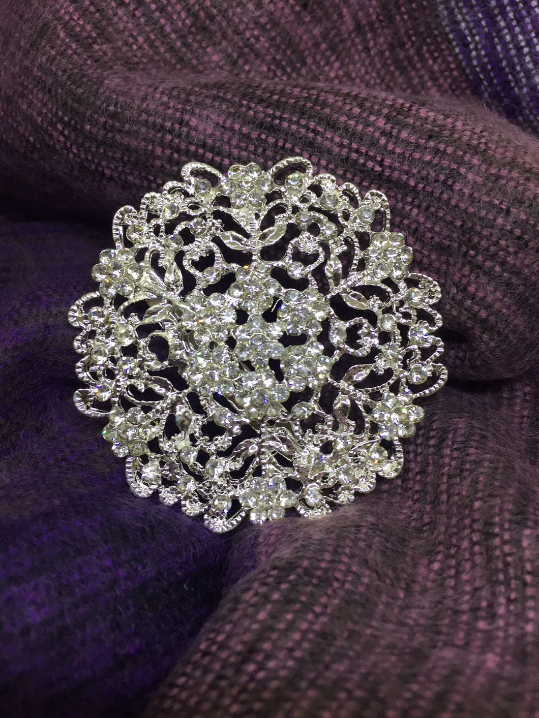 Super Trendy  Brooch  with Crystal Rhinestones - Eleganz n Grace - The Style Shoppe
