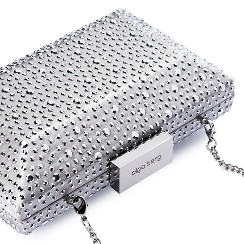 MACY Square Facetted Clutch by OLGA BERG