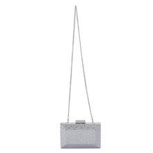 MACY Square Facetted Clutch by OLGA BERG - Eleganz n Grace - The Style Shoppe