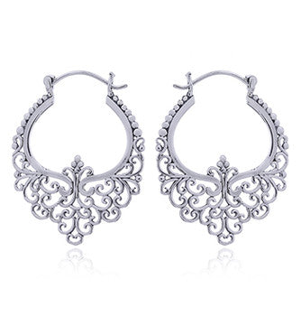 Ajoure 925 Silver Earrings