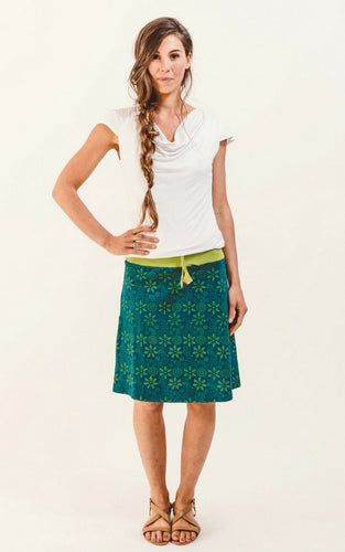STELLA - Stretch Cotton Skirt