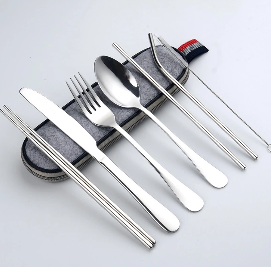 Stainless Steel Cutlery Set for Travel