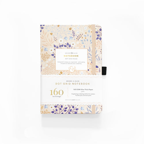 A5 Blush A Bye Dot Grid Notebook