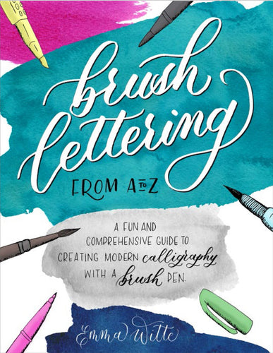 Brush Lettering by Emma Witte