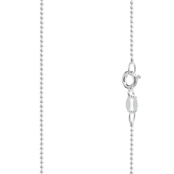 925 Sterling Silver Ball Chain 1.0 mm