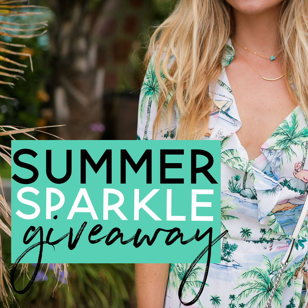 Summer Sparkle Jewelry Giveaway!