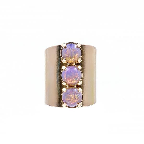 opal 3 stone ring by erin fader