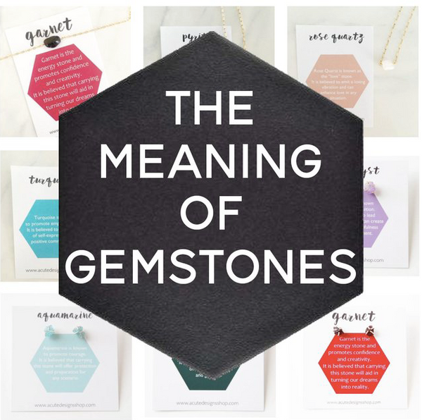 glossary of gemstone meanings