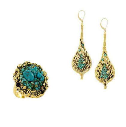 handmade turquoise jewelry by Double Happiness
