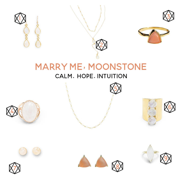 handmade moonstone jewelry picks
