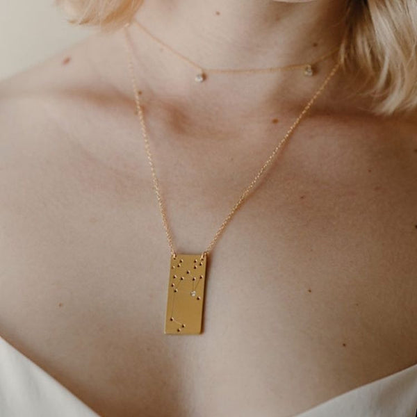Constellation necklace by Thatch Jewelry