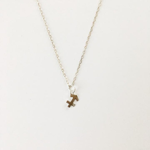 zodiac charm necklace shoppe california