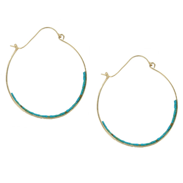 Bridget Turquoise Earrings