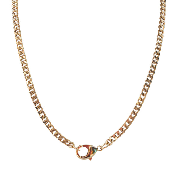 gold choker chain by Love Tatum