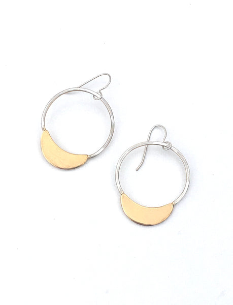 Luna drop earrings by Housgoods