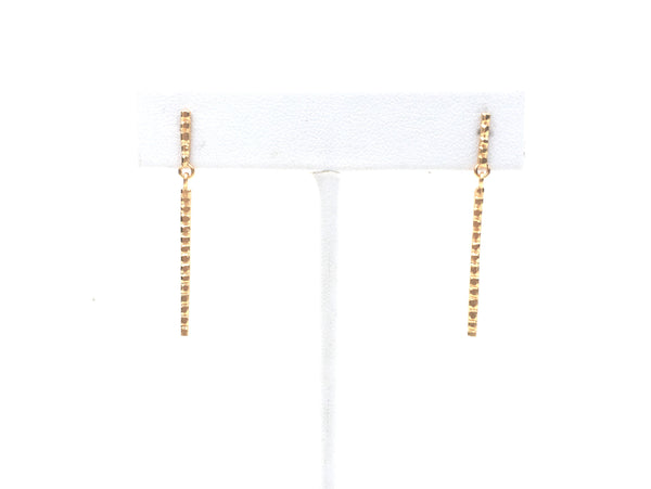 rills stick drop earrings by Housgoods
