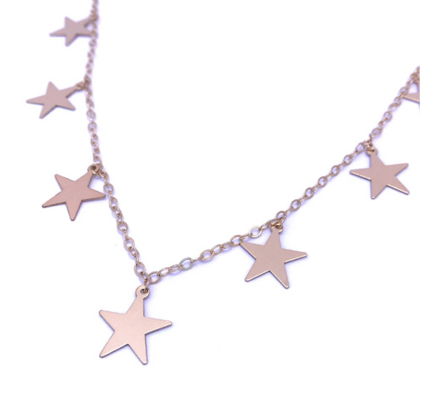 star charm necklace shoppe california