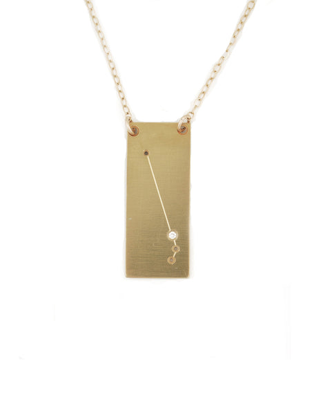 Aries constellation necklace by Thatch Jewelry