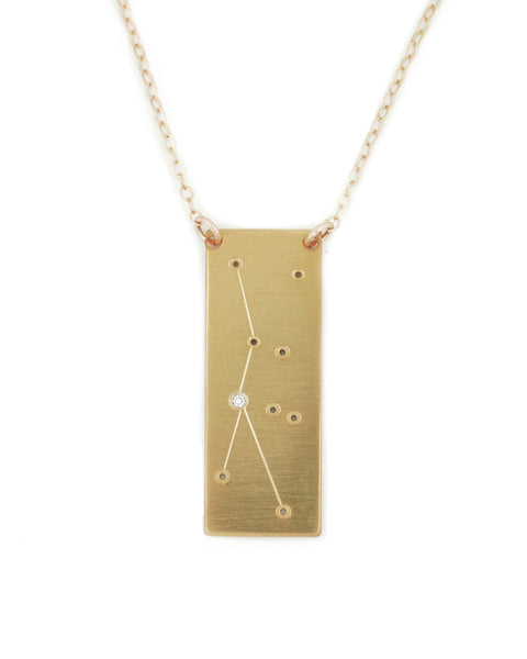 Cancer constellation necklace
