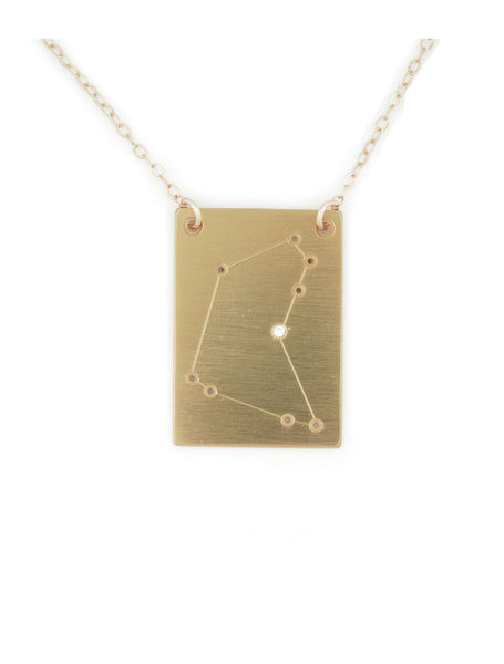 capricorn constellation necklace by thatch jewelry