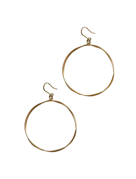 twisted hoop earrings shoppe california