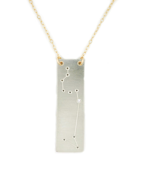 Leo constellation necklace by Thatch Jewelry