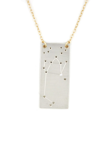 Sagittarius constellation necklace by Thatch Jewelry