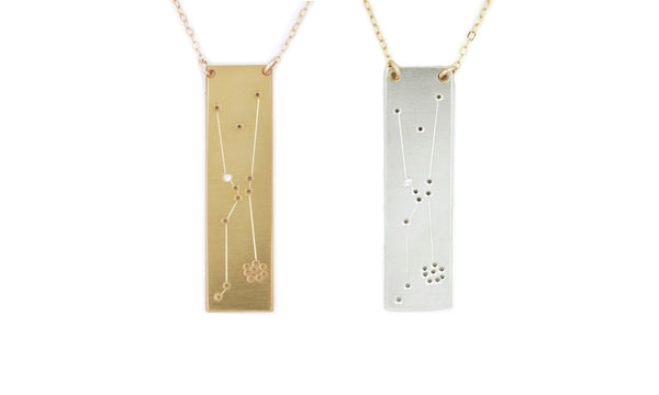 Taurus constellation necklace by Thatch Jewelry