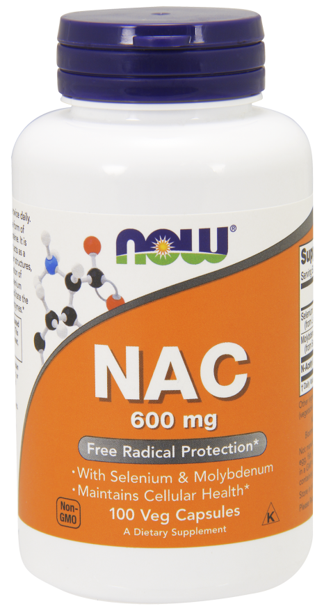 NOW NAC 600mg with Selenium and Molybdenum 250 ct
