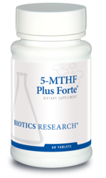 Biotics Research 5-MTHF Plus - 60 tabs