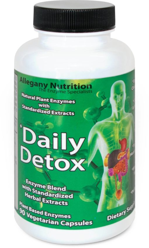 Allegany Nutrition Daily Detox - 90 ct