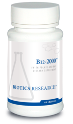 Biotics Research B12-2000 Lozenges 60 pack
