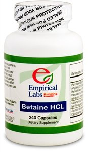 Empirical Labs Betaine HCl - 240 ct