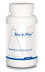Biotics Research Bio-6-Plus/Coated 90 tabs
