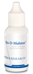 Biotics Research Bio-D-Mulsion 1 fl. oz.