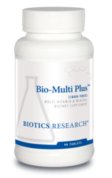 Biotics Research Bio-Multi Plus Iron Free - 90 tabs