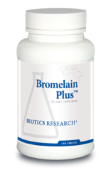 Biotics Research Bromelain Plus - 100 tablets