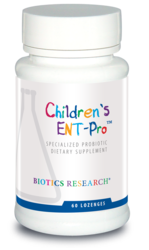 Biotics Research Children's ENT-Pro - 60 lozenges