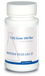 Biotics Research CoQ Zyme 100 Plus - 60 caps
