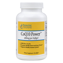 Researched Nutritionals CoQ10 Power - 60 gels