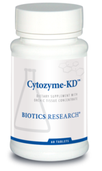 Biotics Research Cytozyme-KD - 60 tabs