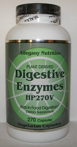 Allegany Nutrition Digestive Enzymes HP270V