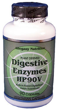 Allegany Nutrition Digestive Enzymes HP90V