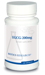 Biotics Research EGCG-200 mg - 60 caps