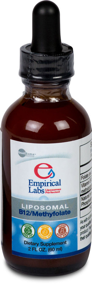 Empirical Labs Liposomal B12/Methylfolate - 2 oz