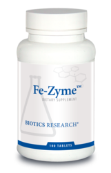 Biotics Research Fe-Zyme - 100 tabs