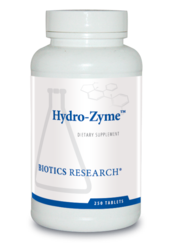 Biotics Research Hydro-Zyme - 250 tabs