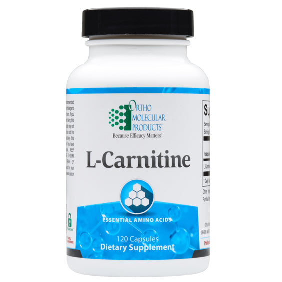 Ortho Molecular L-Carnitine - 120 ct