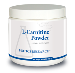 Biotics Research L-Carnitine Powder - 100 g