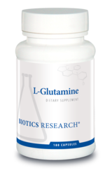 Biotics Research L-Glutamine - 180 caps